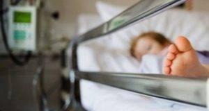 bimbo ricoverato d'urgenza in ospedale