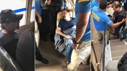 Battisti è arrivato a Ciampino alle 11.30: è stato preso in consegna da Salvini e Bonafede