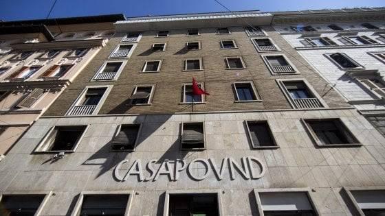 CasaPound dovrà sgomberare i locali della sede sull'Esquilino