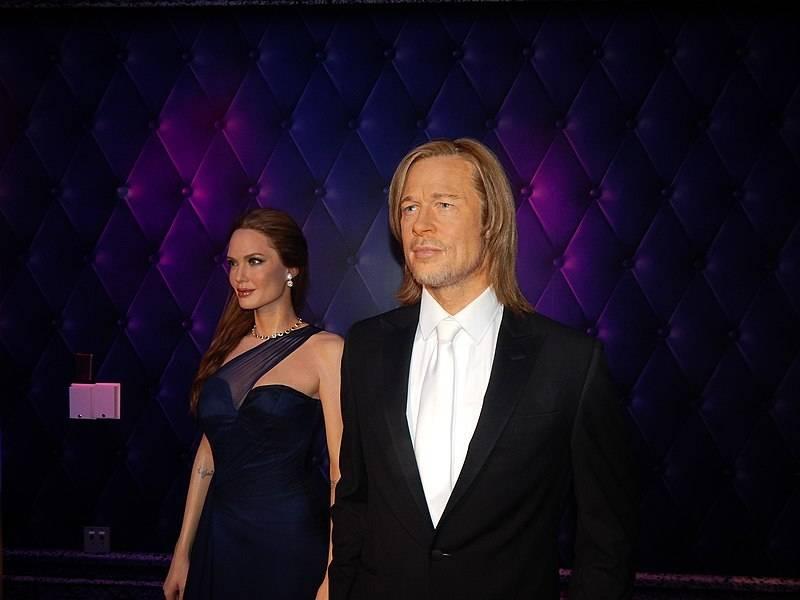 Brad Pitt e Angelina Jolie al museo delle cere