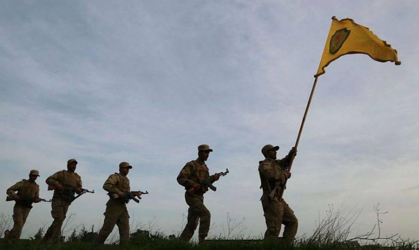 Miliziani curdi dell'YPG