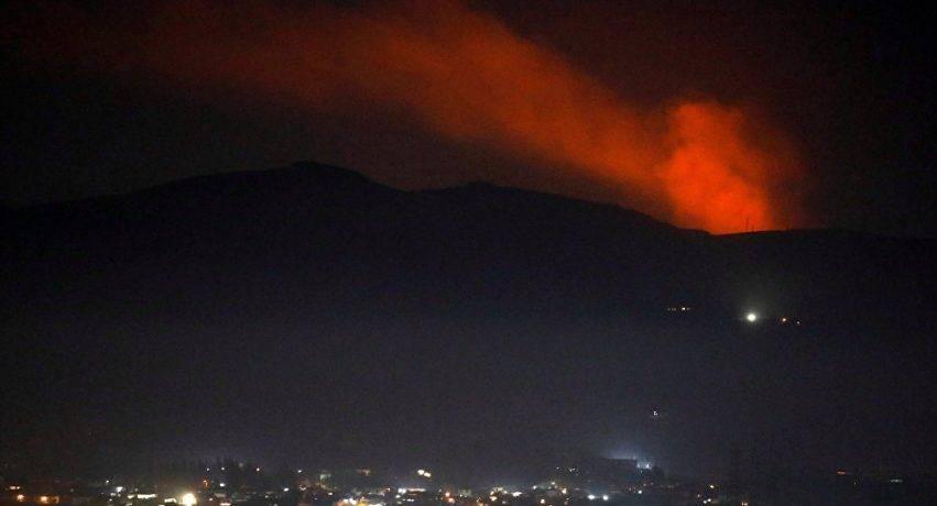 Bombardamenti a Damasco