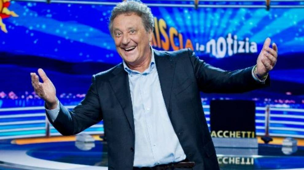 Enzo Iacchetti a Striscia