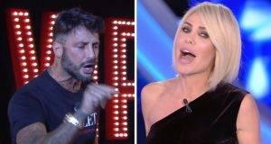 Fabrizio Corona ed Ilary Blasi