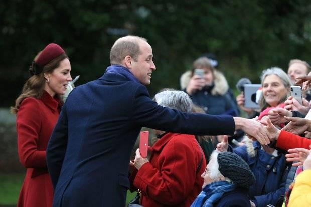 William e la moglie Kate