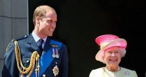 Il Principe William con Elisabetta