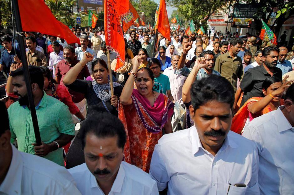 Le proteste che hanno sconvolto la regione del Kerala