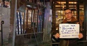 Sorbillo, scoppia bomba nella storica pizzeria di Napoli. Salvo il custode che era nel locale
