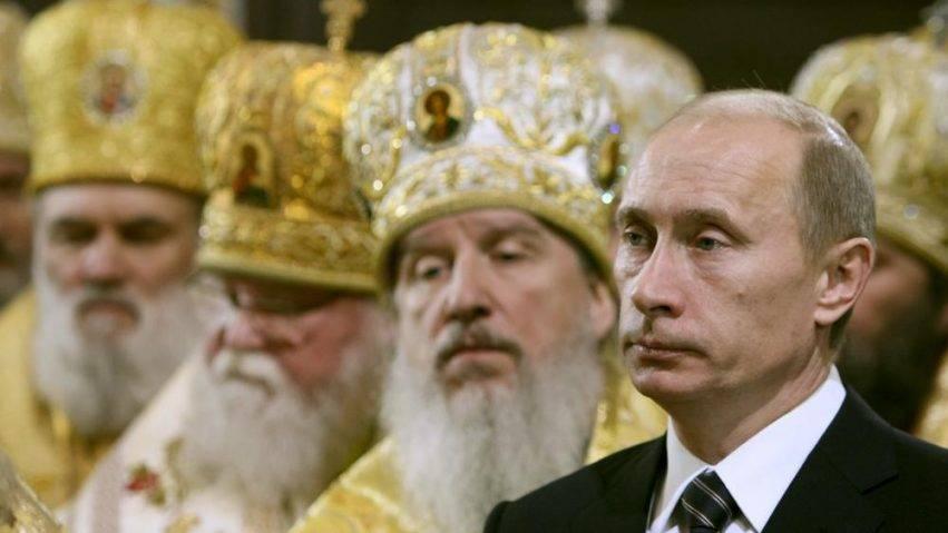 Vladimir Putin e il Patriarca Kirill