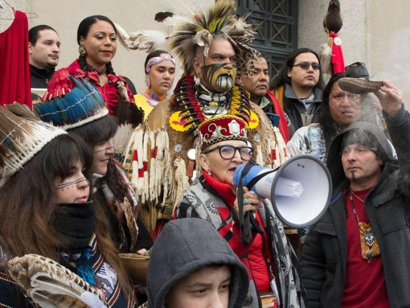La Marcia per gli Indigeni a Washington