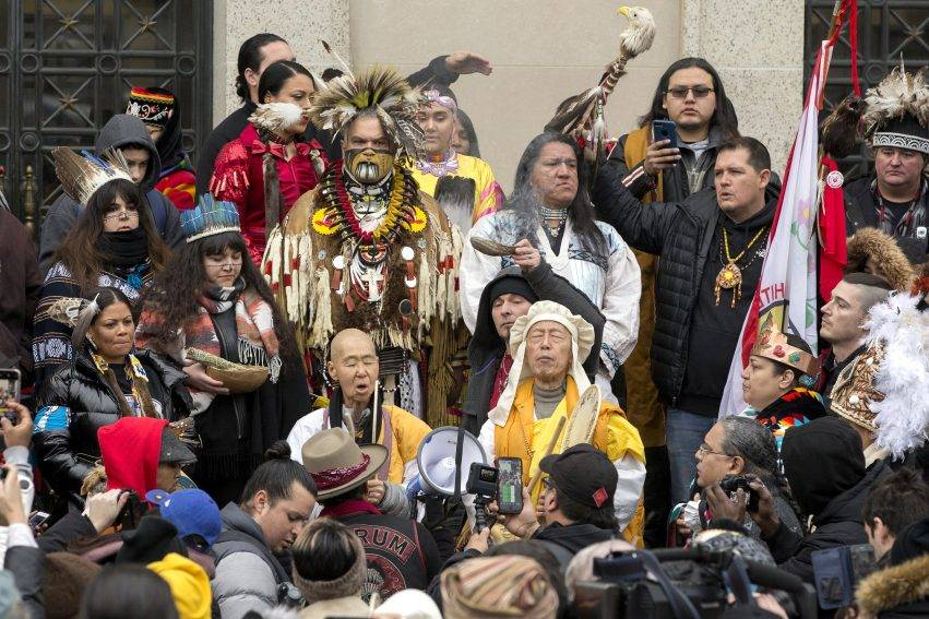 La Marcia degli Indigeni a Washington