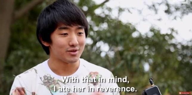 Yuta Shinohara confessa il suo amore per uno scarafaggio di nome Lisa