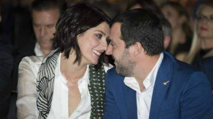 lisa Isoardi e Matteo Salvini