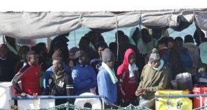Iimmigrati della Sea Watch