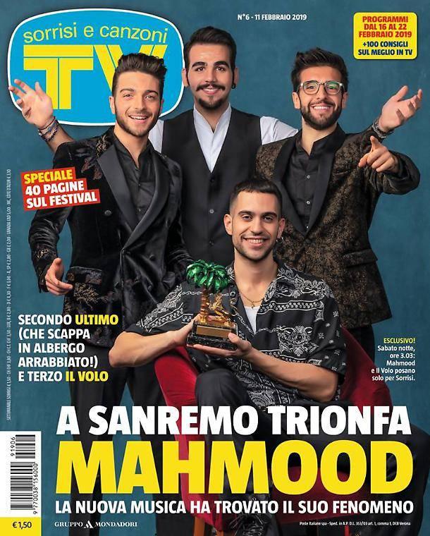 La copertina di Tv Sorrisi e Canzoni