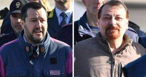 """Salvini e Bonafede indagati dai pm per Battisti- """"Non hanno tutelato la dignità dell'arrestato"""""""