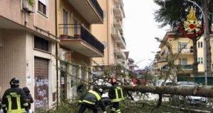 maltempo italia interventi vigili del fuoco