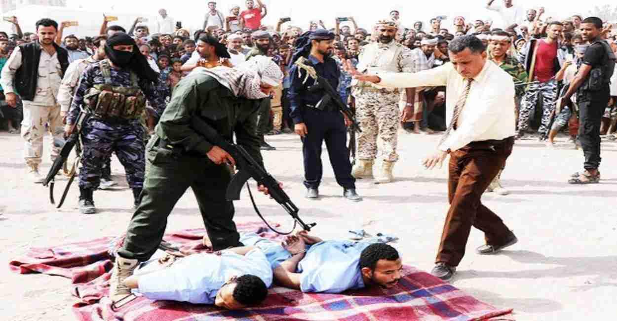 stupro ragazzo yemen pena capitale
