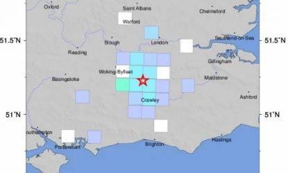 terremoto inghilterra e londra