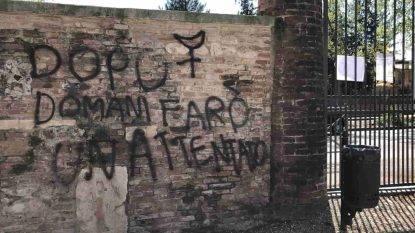 """""""Dopodomani farò un attentato"""". Si indaga sulla scritta trovata nel parco a Vicenza-min"""