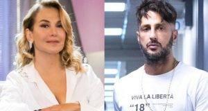 Barbara D'Urso e Fabrizio Corona