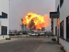 Esplode un impianto chimico in Cina, è strage: 47 morti, 600 feriti. Scoppio così potente da registrare un sisma magnitudo 2.2.