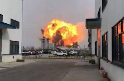 Cina: esplode impianto chimico, almeno 47 le vittime