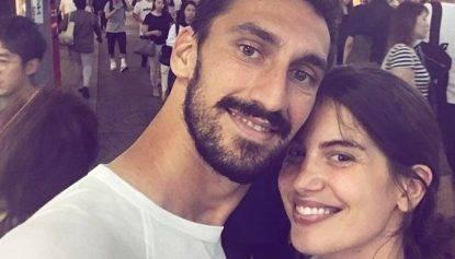 Francesca Fioretti e Davide Astori