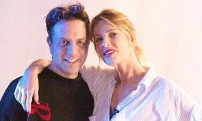 Gabriele Parpiglia e Alessia Marcuzzi