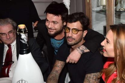 Giampaolo Celli e Fabrizio Corona