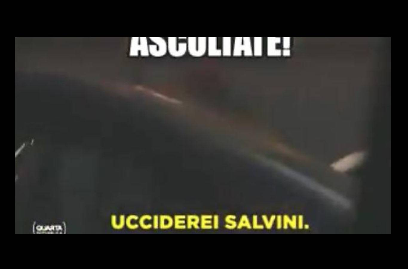 "L'immigrato al cronista: ""Ucciderei Salvini"" e Vauro commenta: ""Cosa c'è di strano?"" / VIDEO"