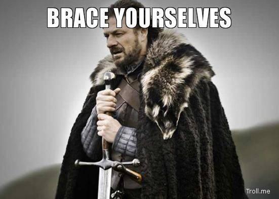 Anche Eddard Stark si prepara al blackout di Instagram, Facebook e Whatsapp