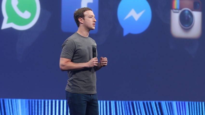 Zuckerberg e i tre social