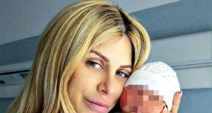 Paola Caruso con il piccolo Michele Nicola