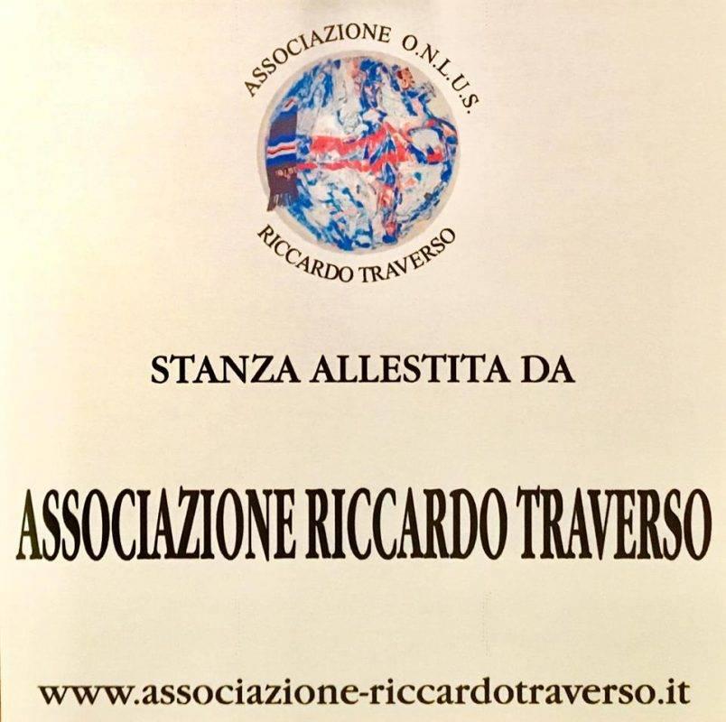 Stanze allestite dall'Associazione Riccardo Traverso