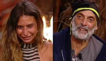 Sarah Altobello e Paolo Brosio