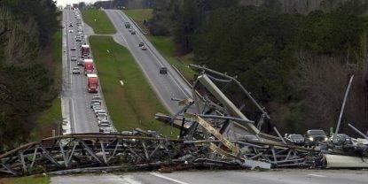 Tornado devasta l'Alabama, è strage- 23 morti, due sono bambini -min