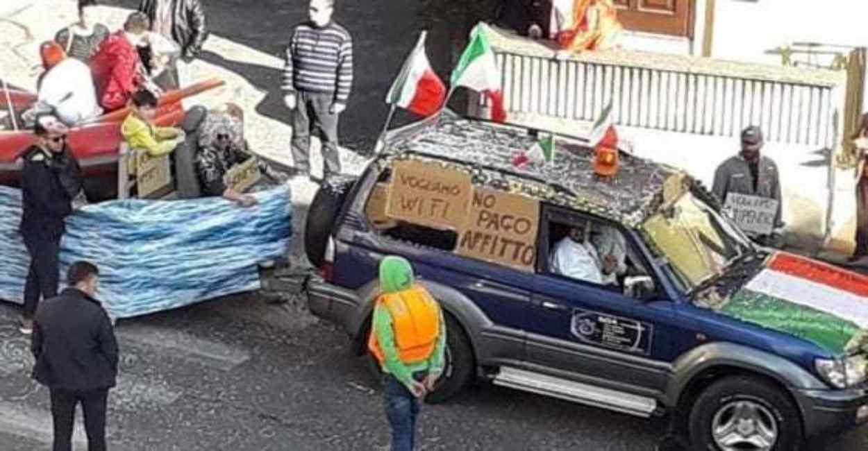 carro migranti formello