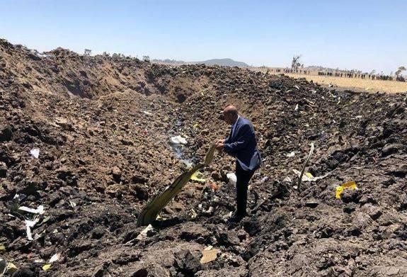 incidente ethiopian airlines