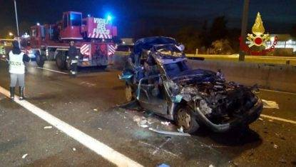 incidente stradale A1