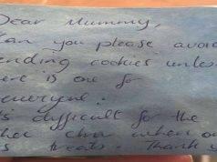 madre biscotti scuola