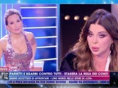 Barbara D'Urso e Alba Parietti