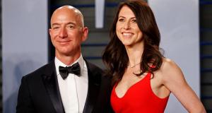 Jeff Bezos e MacKenzie