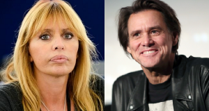 Jim Carrey e Alessandra Mussolini
