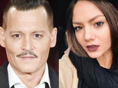 Johnny Depp e Polina Glen