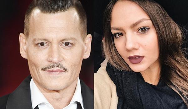 Johnny Depp e Polina Glen