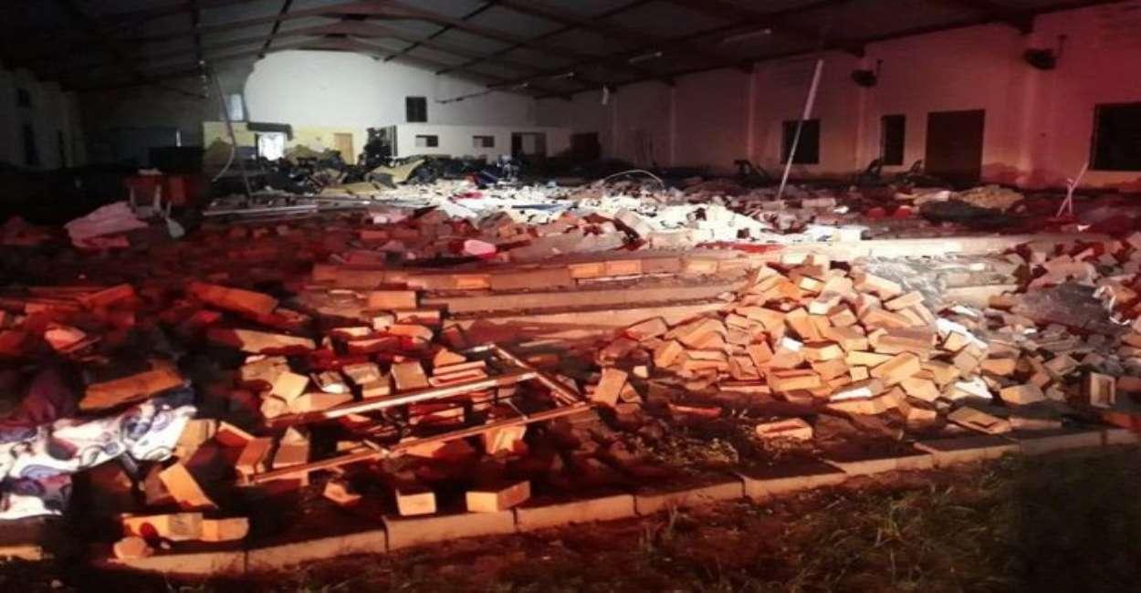 chiesa sudafrica morti