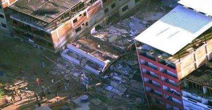 crollo edifici brasile