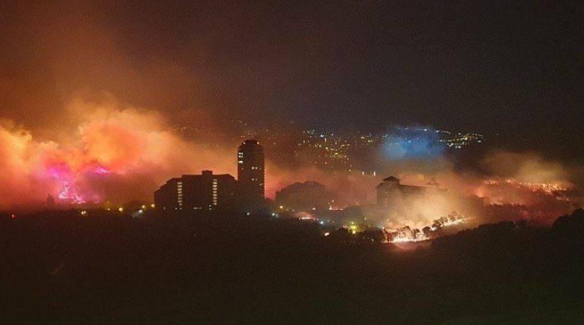 incendio corea del sud
