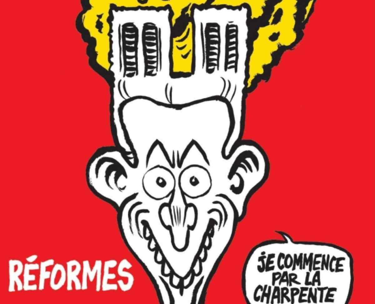 anche l'incendio di Notre Dame, merita una (Polemica) copertina
